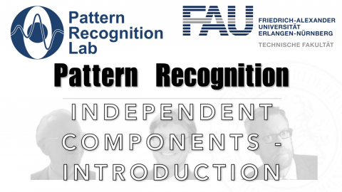 "Towards entry ""Watch now: Pattern Recognition: Episode 32 – Independent Component Analysis – Introduction (WS 20/21)"""
