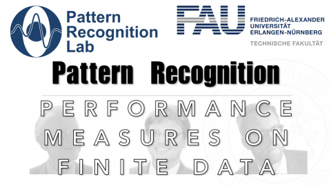 "Towards entry ""Watch now: Pattern Recognition: Episode 36 – Performance Measures on Finite Data (WS 20/21)"""