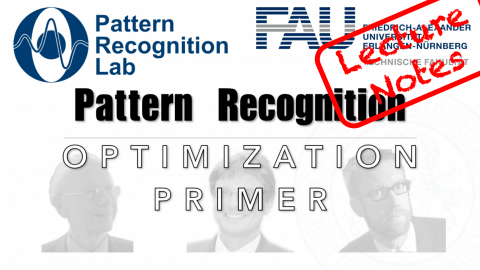 "Towards entry ""Lecture Notes in Pattern Recognition: Optimization Primer"""
