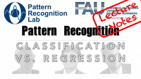 "Towards entry ""Lecture Notes in Pattern Recognition: Classification vs Regression"""